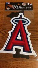 MLB ANAHEIM ANGELS CALIFORNIA 2 PACK OF MAGNETS NEW IN PACKAGE CAR MAGNET NICE !