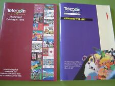New Zealand Phone Card Catalogues 1st July 1994 to June 30 1995 & 1995 to 1997