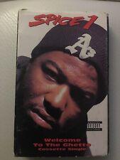 Spice 1 Welcome To The Ghetto Cassette Single 1992 Zomba Records Rap West Coast