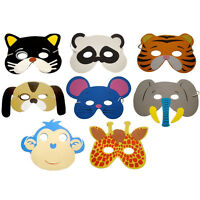 10X Eva Foam Animals Masks For All Occasions Kids Birthday Party Filler Toys