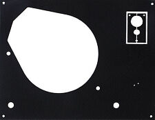 Deckplatte Platte face plate für Thorens TD 145 146 147 160 165 166 Karbon black