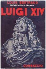 LUIGI XIV LOUIS BERTRAND AMILCARE LOCATELLI 1936 CORBACCIO  (JA251)