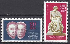 DDR 1970 Mi. Nr. 1603-1604 Postfrisch ** MNH