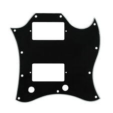 NEW Black 3Ply SG Full Face Guitar Pickguard Scratch Plate for SG Style Guitar