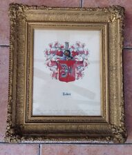 Roder Coat Of Arms Framed Picture