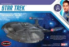 Round 2 Llc. Polar Lights 1/1000 Star Trek Nx-01 Enterprise 2t Snap Pll966m
