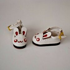 Doll shoes White Bunny Rabbit fits Azone Pure Neemo & Picco Neemo D Lil Fairy