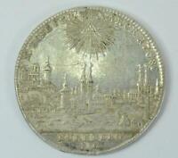 Coin Münze Taler Stadtansicht Nürnberg Stadt 1768 Silber Doppeladler silver .
