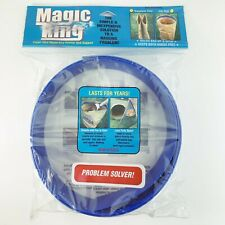 Magic Ring Paper Yard Waste Bag Opener and Support - Holds Bag Up & Open, NEW