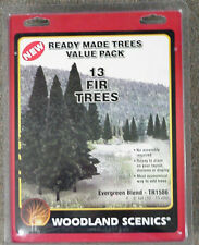 "62 model railroad Scenery Trees Woodland Scenics  2""-6"" 4 packs"