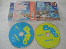 2 CD's BRAVO HITS 70 Katy Perry Lady Gaga David Guetta Kesha  ...
