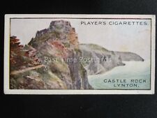 No.2 CASTLE ROCK LYNTON - Gems of British Scenery by John Player 1917