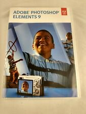 Adobe Photoshop Elements 9 - 2 Discs + Serial Number