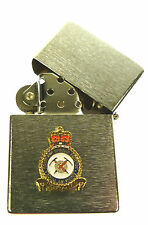 RAF ROYAL AIR FORCE MOUNTAIN RESCUE  WINDPROOF CHROME PLATED LIGHTER