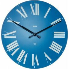 Alessi Firenze Wall Clock, Blue, 12 AZ