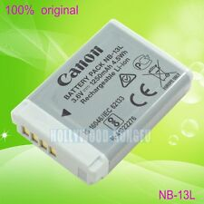 Genuine Original NB-13L NB13L Battery For CB-2LHT PowerShot G7X G9X G5X SX720 HS