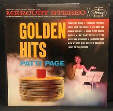 "Patti Page Vinyl Records Music LP Golden Hits Record Album 12"" Vintage Retro Pop"