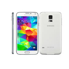 (White)Samsung Galaxy S5 SM-G900T 16GB 16MP 4G LTE Android Unlocked Mobile Phone