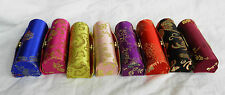 Pretty Chinese Embroidered Silk Lipstick Holder / Lipstick Case with Mirror