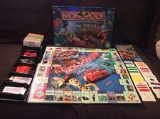Disney Pixar Edition Monopoly Parker Brothers Family Board Game