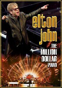 Elton John The Million Dollar Piano DVD All Regions NTSC NEW