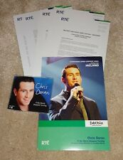 Eurovision 2004 Ireland Chris Doran If My World Stopped Turning press pack CD