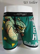 Ed Hardy Men's Bulldog-Athletic Print Boxer Briefs Size Large-10% off