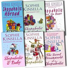 Shopaholic Collection Sophie Kinsella 6 Books Set The Secret Dreamworld New