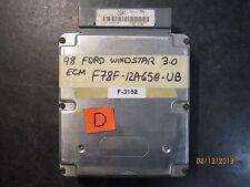 98 FORD WINDSTAR 3.0 ECM #F78F-12A650-UB *see item description*