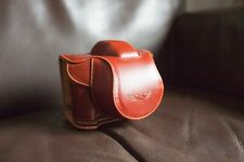 Handmade Genuine real Leather Full Camera Case bag cover for Olympus Stylus 1