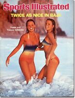 January 19, 1976 Sylander Twins Sports Illustrated Swimsuit Issue NO LABEL