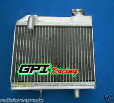 suzuki RM125 RM 125 1981 1982 1983 aluminum radiator