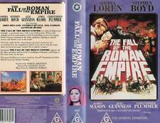 THE FALL OF THE ROMAN EMPIRE - VHS - PAL - New and Sealed - Original Oz release