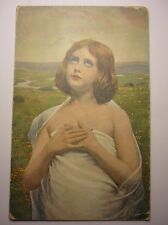 Antique German Postcard Lempoels Innocence 1917