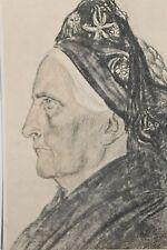 17705 Künstler AK W. Willrich Inselfriesin 29.9.42 Frauen Kopf Tracht