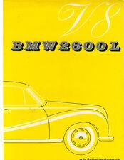 BMW   Folder  2600 L  V8 Sedan  1963