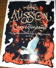 The Mission Carved In Sand Poster