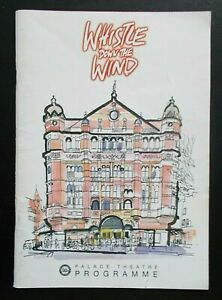 Whistle Down the Wind programme Palace Theatre 2006 Tim Rogers Claire Marlowe