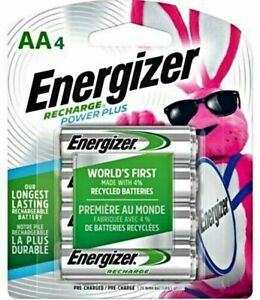 *New*Sealed* ENERGIZER NH15BP-4 AA 2300mAh NiMH RECHARGEABLE BATTERIES - 4-PACK