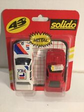 Vintage Solido 1/43 Die-Cast Vehicles New On Backing Card & In Blister BMW + 1