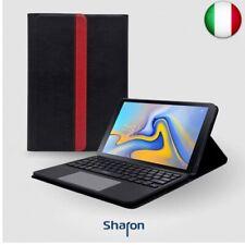 Sharon Custodia con Tastiera  (Samsung Galaxy Tab A 2018 10.5 SM-T590 SM-T595)