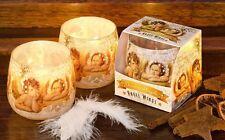 2x vela perfumada en uno Envase de cristal, Rafael