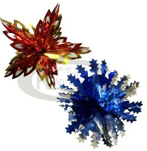 GARLANDS SNOWFLAKES CHRISTMAS HOUSE WALL HANGING DECORATION CEILING HAPPY XMAS