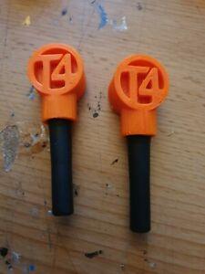 Vw T4  Custom Door Pins ORANGE