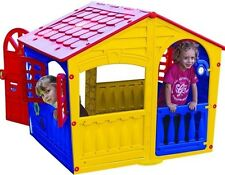 Playhouse for Kids Play House for Children Doors Windows Outdoor Fun Toddlers