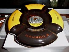 Cohiba Maduro 5  cigar ashtray made by Byron in original  box
