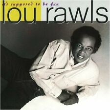 Lou Rawls It's supposed to be fun (1990) [CD]