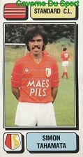 252 SIMON TAHAMATA NETHERLANDS STANDARD.CL STICKER FOOTBALL 1983 PANINI