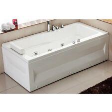Vasca da bagno idromassaggio per una persona 170x70 con 9 idrogetti |56