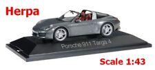 Porsche 911 (991) Targa 4s Gris Agate Métallique 1 43 Herpa